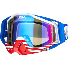 100% Racecraft Anti Fog Mirror Goggles anthem